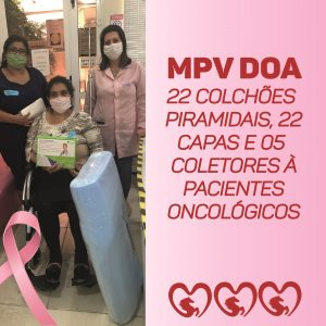 MPV DOA PARA LIGA FEMININA DE COMBATE AO CÂNCER