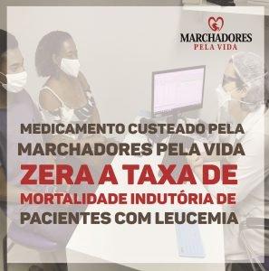 Medicamento custeado pela MPV salva vidas