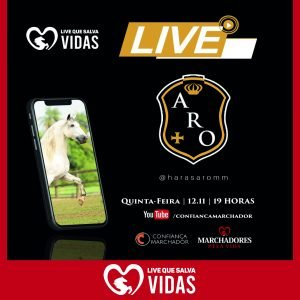 HARAS ARO promove LIVE QUE SALVA VIDAS