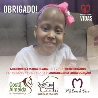 Parceiras do Mangalarga Marchador doam para a MPV o valor de 6 mil reais e engrandecem a missão solidária.