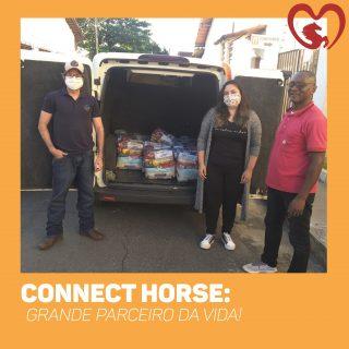 CONNECT HORSE DOA PARA MARCHADORES PELA VIDA