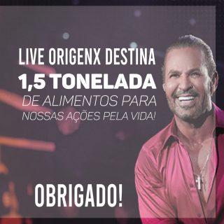 EDUARDO COSTA PROMOVE LIVE QUE SALVA VIDAS